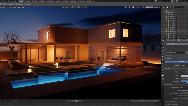 Blender 2.8 Architecture Workflow
