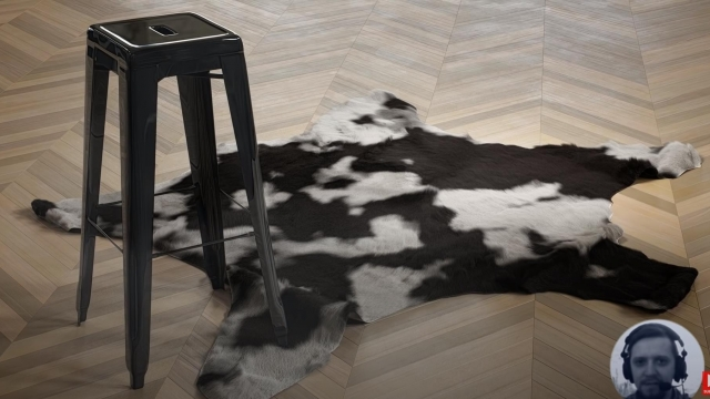 Interior blender loft animal skin