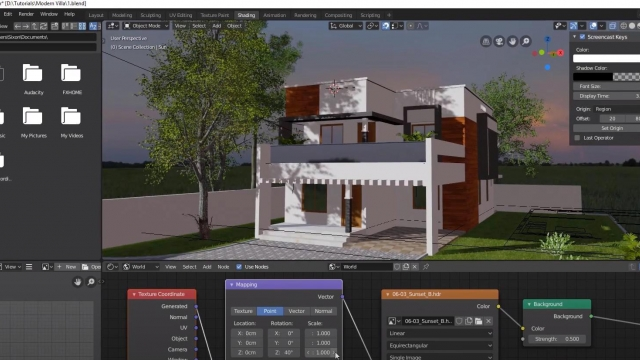 Making a Modern House in Blender