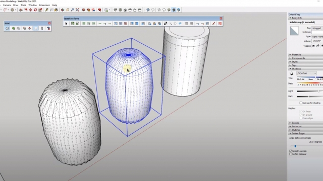 Intro to SUBDIVISION MODELING in SketchUp - YouTube
