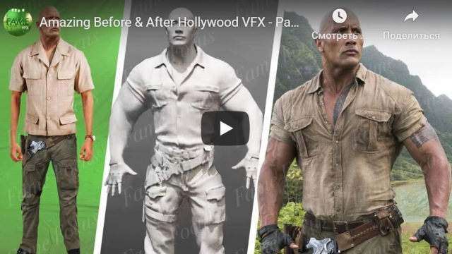 Amazing Before & After Hollywood VFX