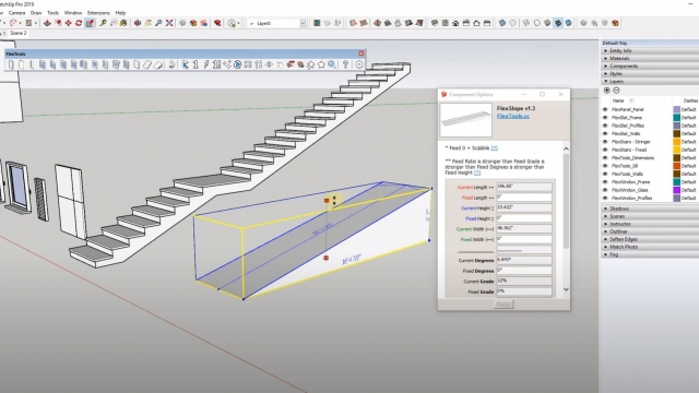 SketchUp Extensions for Architecture FlexTools