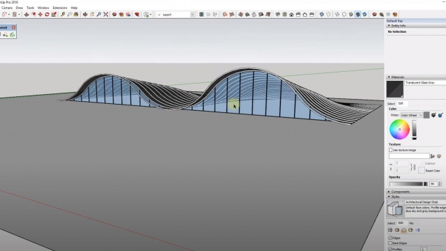 Modeling Complex Structures in SketchUp - The Winery