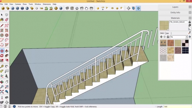 Sketchup-stairs