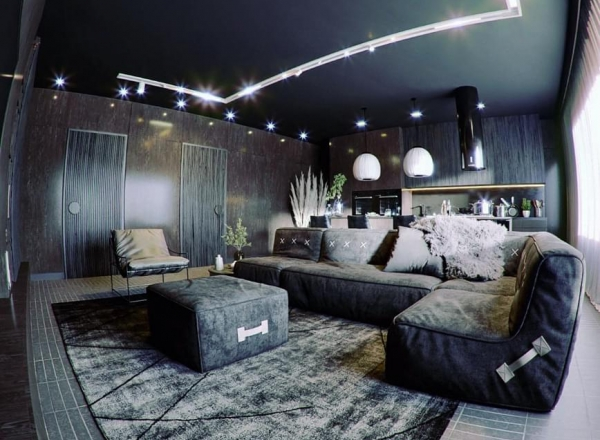 CGI - LOFT ALL BLACK