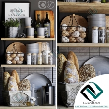 Мелочь для кухни Small things for the kitchen Decorative set 10