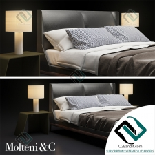 Кровать Bed Fulham by Molteni