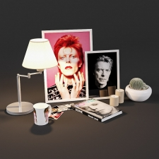 David Bowie fan set