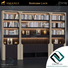 шкаф cupboard Smania Lock стенка