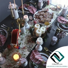посуда Table setting 12