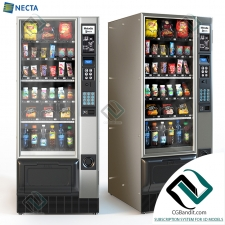 Автомат с едой Vending machine with food Necta Melodia