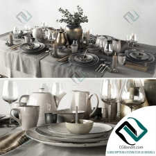 посуда Tableware Set