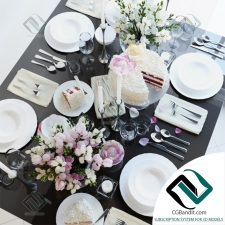посуда Table setting 13