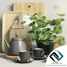 Мелочь для кухни Small things for the kitchen Decorative set 08
