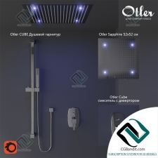 Смеситель Mixer Otler rain shower
