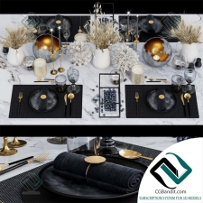 посуда dishes Luxury 03