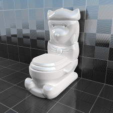 Childrens toilet