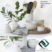 Мелочь для кухни Small things for the kitchen Decorative set 12