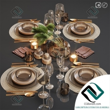 посуда dishes Table setting 23