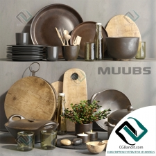 посуда dishes MUUBS