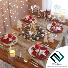 посуда dishes Table setting 27