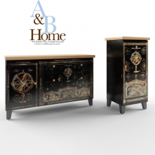 A&B Home Accent Furniture Fantasy Garden Тумба и комод