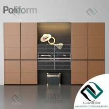 шкаф cupboard Poliform DS декор