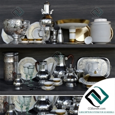 посуда dishes SET 03
