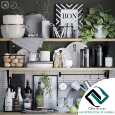 Мелочь для кухни Small things for the kitchen Decorative set 16