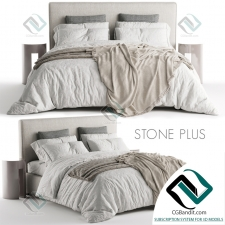 Кровать Bed Meridiani Stone Plus 03