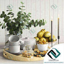 Мелочь для кухни Small things for the kitchen Decorative set 14