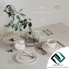 посуда dishes Serving 11