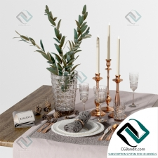 посуда dishes Table_Settings