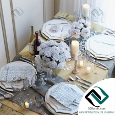 посуда Table setting 15