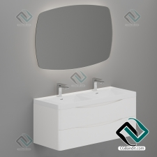 Умывальник BelBagno ANCONA furniture for bathroom, mixer TEKA