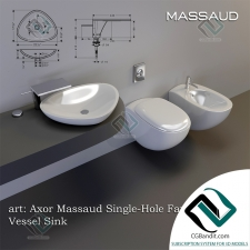 умывальник washbasin Axor Massaud