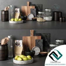 Мелочь для кухни Small things for the kitchen Decor Set 06