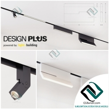 Встроенное освещение Built-in lighting design plus light building