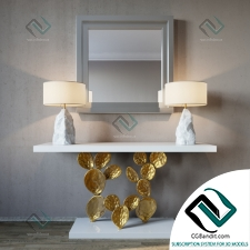 Консоль Console Ginger Jagger Cactus console and Pico lamp