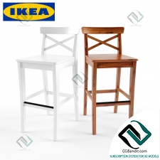 Стул Chair IKEA Ingolf