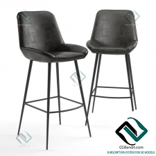 Барный стул Bar stool Loft Designe Model 4034