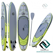 Доска для серфинга Surfboard ISLE Explorer Inflatable Paddle Board Package