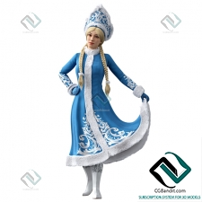 Живые существа Living creatures Snow Maiden